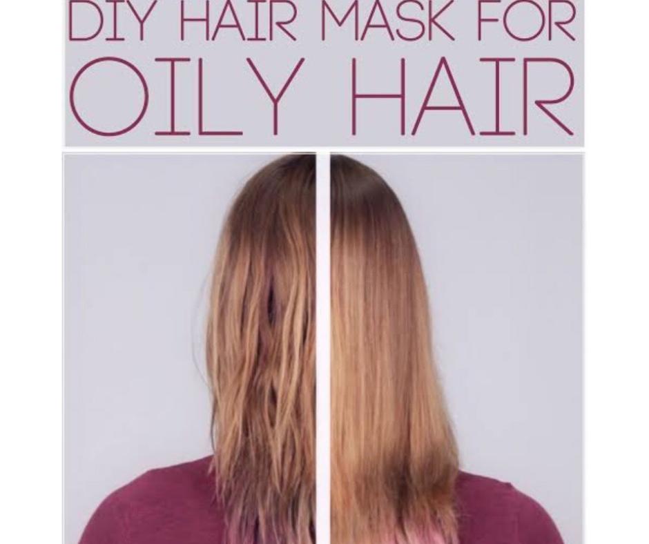 DIY HOMEMADE MASK FOR OILY HAIR